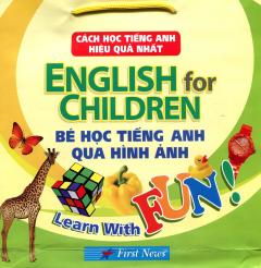 English For Children - Bé Học Tiếng Anh Qua Hình Ảnh (bo 15 Cuốn)
