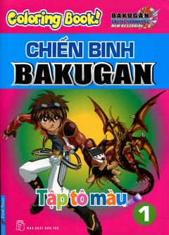 Tập Tô Màu - Chiến Binh Bakugan - Tập 1