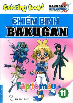 Tập Tô Màu - Chiến Binh Bakugan - Tập 11