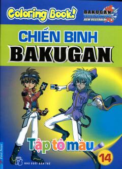 Tập Tô Màu - Chiến Binh Bakugan - Tập 14