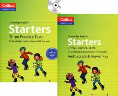 Cambridge English: Starters - Three Practice Tests (Bộ 2 Cuốn - Kèm 1 MP3)