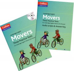 Cambridge English: Movers - Three Practice Tests (Bộ 2 Cuốn - Kèm 1 MP3)
