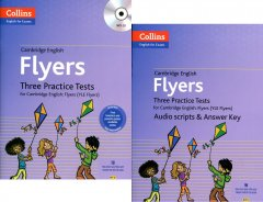 Cambridge English: Flyers - Three Practice Tests (Bộ 2 Cuốn - Kèm 1 MP3)