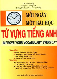 Mỗi Ngày Một Bài Học - Từ Vựng Tiếng Anh - Tái bản 05/2013