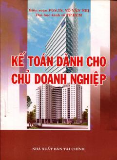 Kế Toán Dành Cho Chủ Doanh Nghiệp