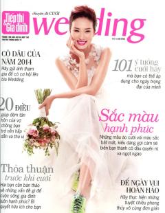Tiếp Thị & Gia Đình - Wedding (Số 1/2014)