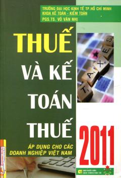 Thuế Và Kế Toán Thuế 2011