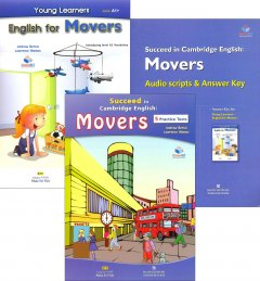 Succeed In Cambridge English: Movers - 5 Practice Tests (Bộ 3 Cuốn + 1 CD)