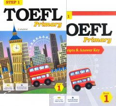 TOEFL Primary Step 1 - Book 1 (Bộ 2 Cuốn + 1 CD)