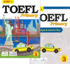 TOEFL Primary Step 1 - Book 3 (Bộ 2 Cuốn + 1 CD)