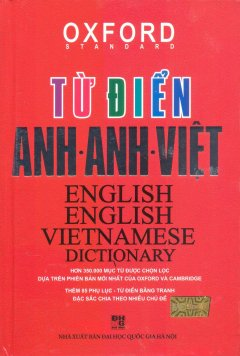 Từ Điển Anh-Anh-Việt (Bìa Cứng Đỏ)