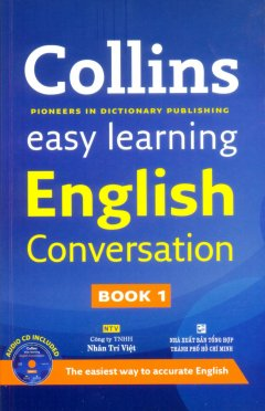 Collins Easy Learning English Conversation - Book 1 (Kèm 1 CD)