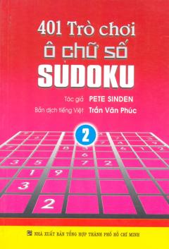 401 Trò Chơi Ô Chữ Số Sudoku - Tập 2