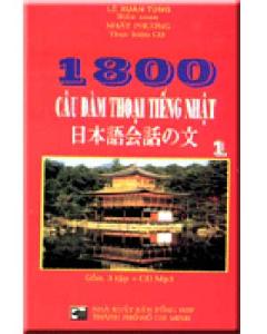 1800 Câu Đàm Thoại Tiếng Nhật - Kèm CD MP3