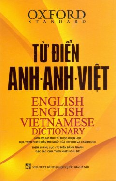 Từ Điển Anh-Anh-Việt (Bìa Cứng Vàng)