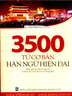 3500 Từ Cơ Bản Hán Ngữ Hiện Đại