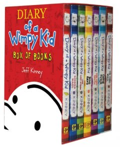 Diary of a Wimpy Kid Box of Books: Volumes 1 - 7