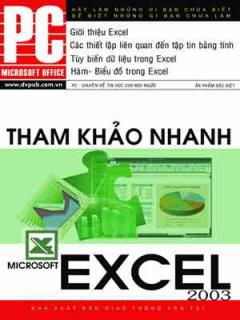Microsoft Exel 2003 - Tham Khảo Nhanh
