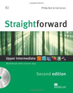 Straighforward (2 Ed.) Upper-Inter: Workbook with Key & CD