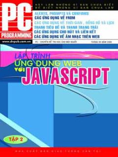 Lập Trình Ứng Dụng Web Với JavaScript (Tập 2)