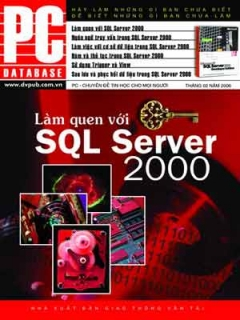 Làm Quen với SQL Server 2000
