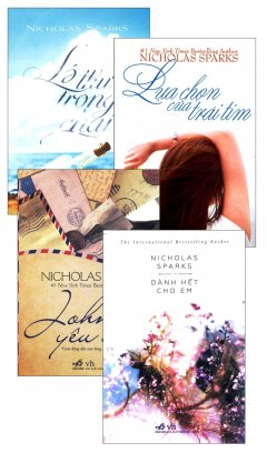 Bộ Tiểu Thuyết Lãng Mạn Của Nicholas Sparks (Bộ 4 Cuốn)