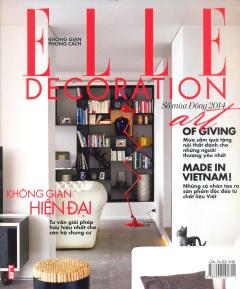 Không Gian Phong Cách - Elle Decoration (Số Mùa Đông 2014)