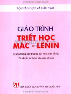 Giáo Trình Triết Học Mác-Lênin
