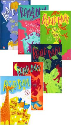 Combo Truyện Thiếu Nhi - Roald Dahl (Bộ 6 Cuốn)