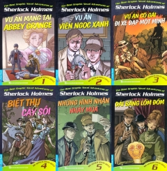 Combo Sherlock Holmes - Bộ 6 Cuốn (Tập 1 - Tập 6)