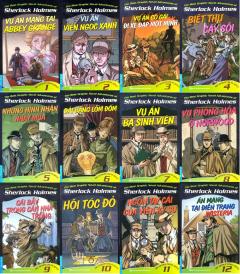 Combo Sherlock Holmes (Bộ 12 Cuốn)