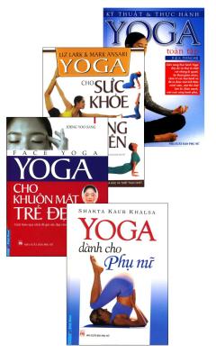 Combo Yoga Cho Phái Đẹp (Bộ 4 Cuốn)