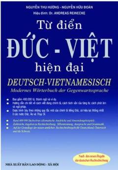 Từ Điển Đức Việt Hiện đại