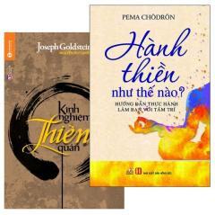 Combo Kinh Nghiệm Thiền Quán (Bộ 2 Cuốn)