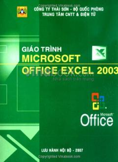 Giáo Trình Microsoft Office Excel 2003