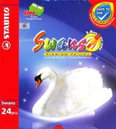 Chì Màu Stabilo Swans CL1869-24 (Dùng Cho Sách Tô Màu Dành Cho Người Lớn)