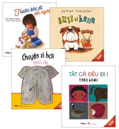 Combo Ehon Nhật Bản - Dành Cho Trẻ Từ 3-8 Tuổi (Bộ 4 Cuốn)