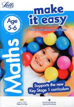 Letts Make It Easy - Maths Age 5-6