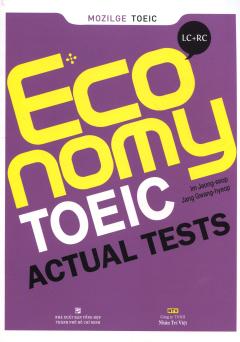 Economy Toeic Actual Tests - Tái Bản 2015 (Kèm 1 CD)