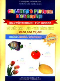 Từ Điển Anh - Đức - Việt Bằng Hình Dành Cho Trẻ em