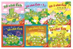 Combo Ehon Nhật Bản (Bộ 1) - 10 Chú Ếch (Bộ 6 Cuốn)