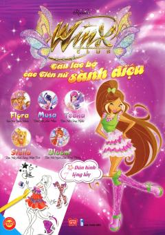 Winx Club - Câu Lạc Bộ Các Tiên Nữ Sành Điệu - Dán Hình Lộng Lẫy