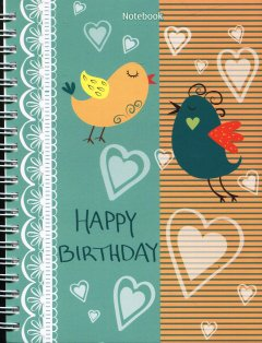 Notebook - Happy Birthday