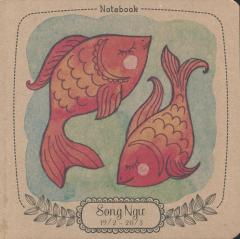 Notebook: 12 Cung Hoàng Đạo - Song Ngư