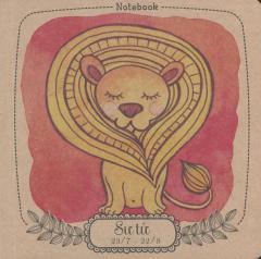 Notebook: 12 Cung Hoàng Đạo - Sư Tử