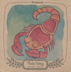 Notebook: 12 Cung Hoàng Đạo - Thần Nông