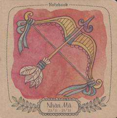 Notebook: 12 Cung Hoàng Đạo - Nhân Mã