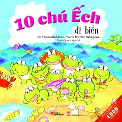Ehon Nhật Bản - 10 Chú Ếch Đi Biển