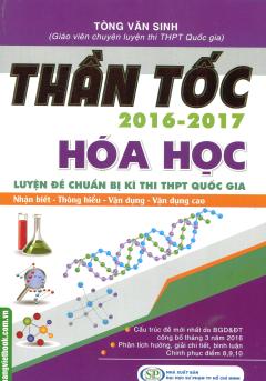 Thần Tốc 2016 - 2017: Hóa Học