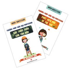 Combo Phương Pháp Giáo Dục Montessori (Bộ 2 Cuốn)